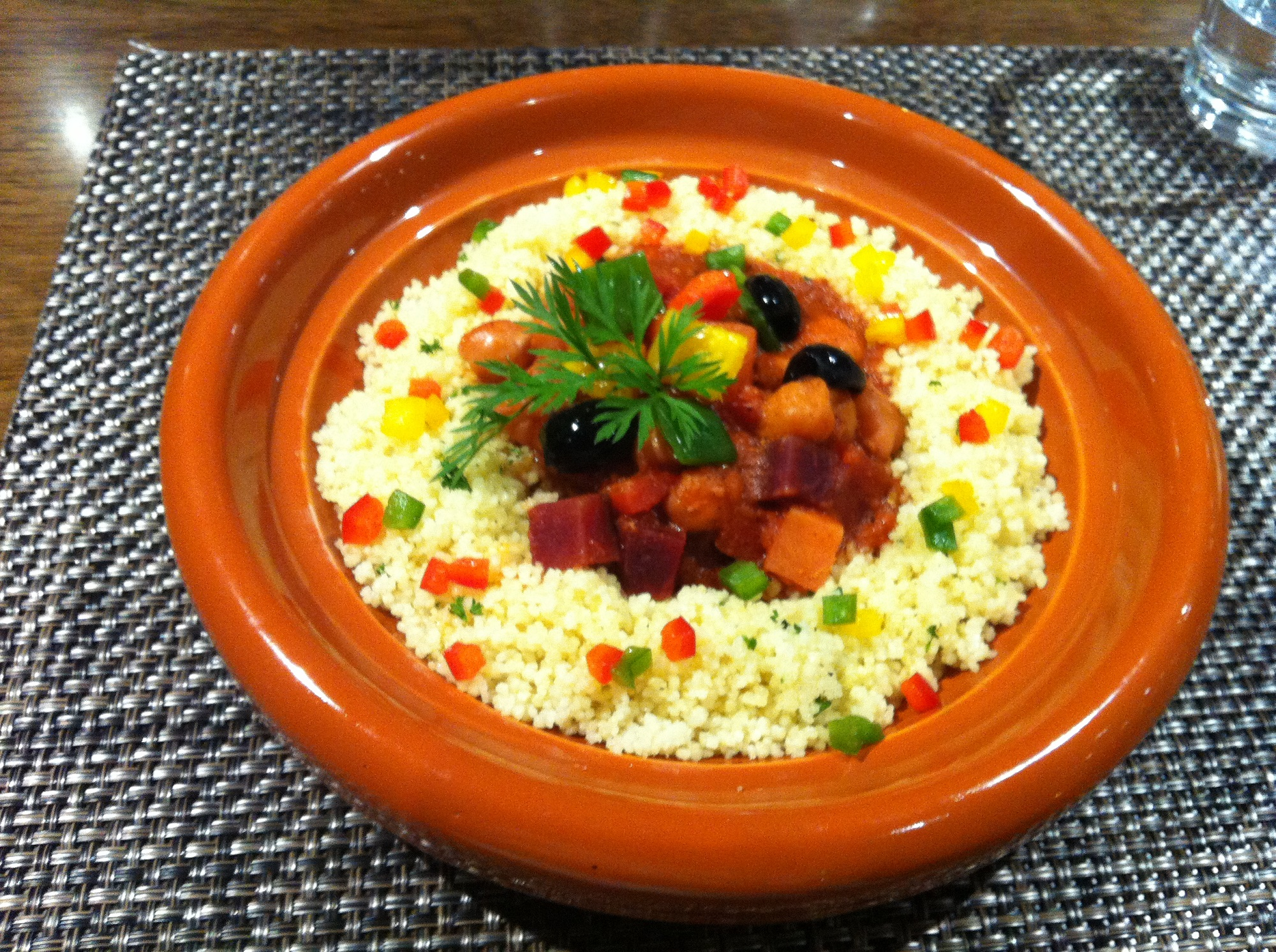 Vegetable Tagine with Cous Cous