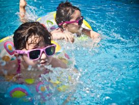 Children in water