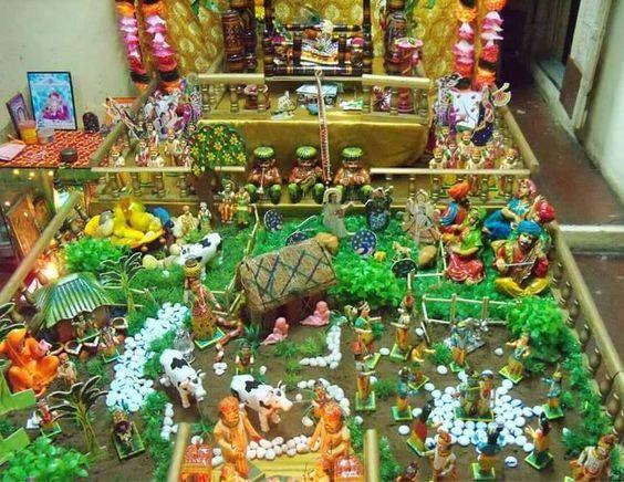 Temple scene