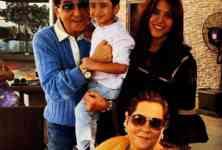 Ekta Kapoor with Family