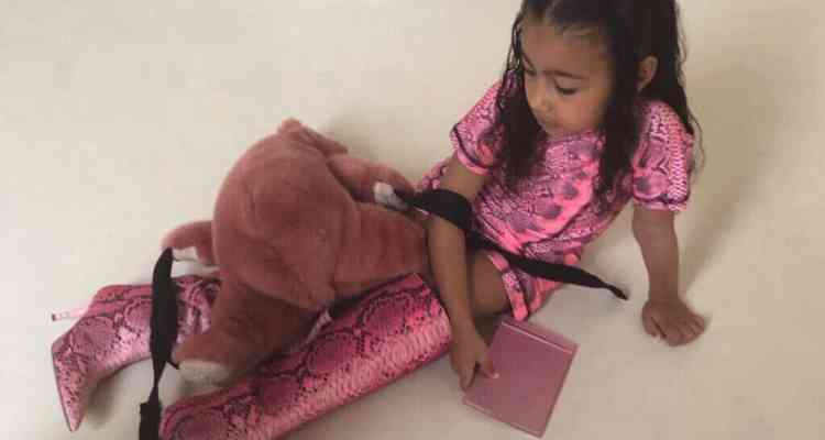 Kim Kardashian daughter's tantrum is a meme now