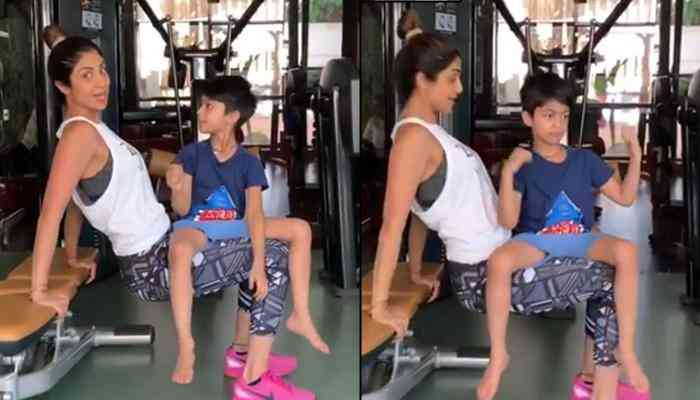 Shilpa Shetty's recent workout video with son is cutest