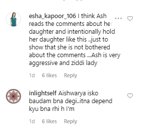 Aishwarya Rai trolled for holding her daughter's hand