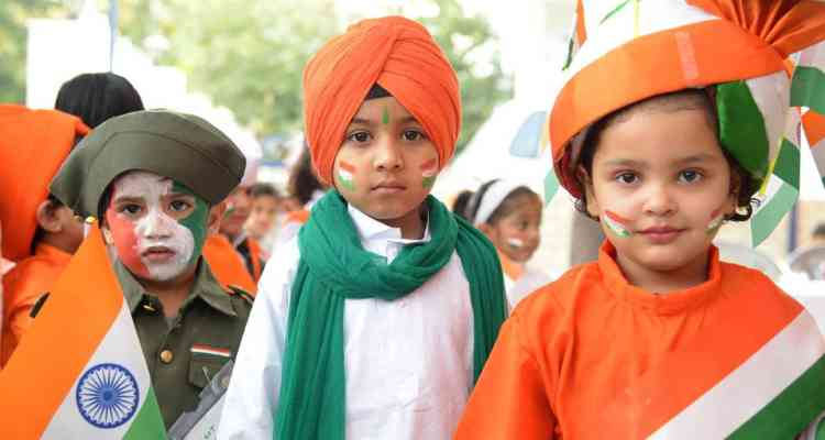 Republic Day outfit for kids