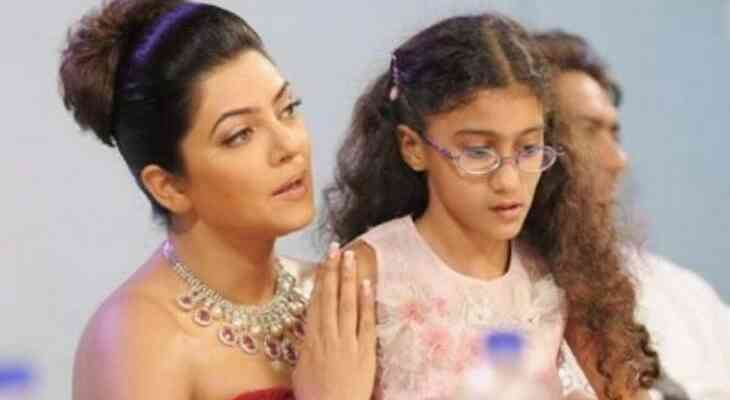 Sushmita Sen with daughter Renee